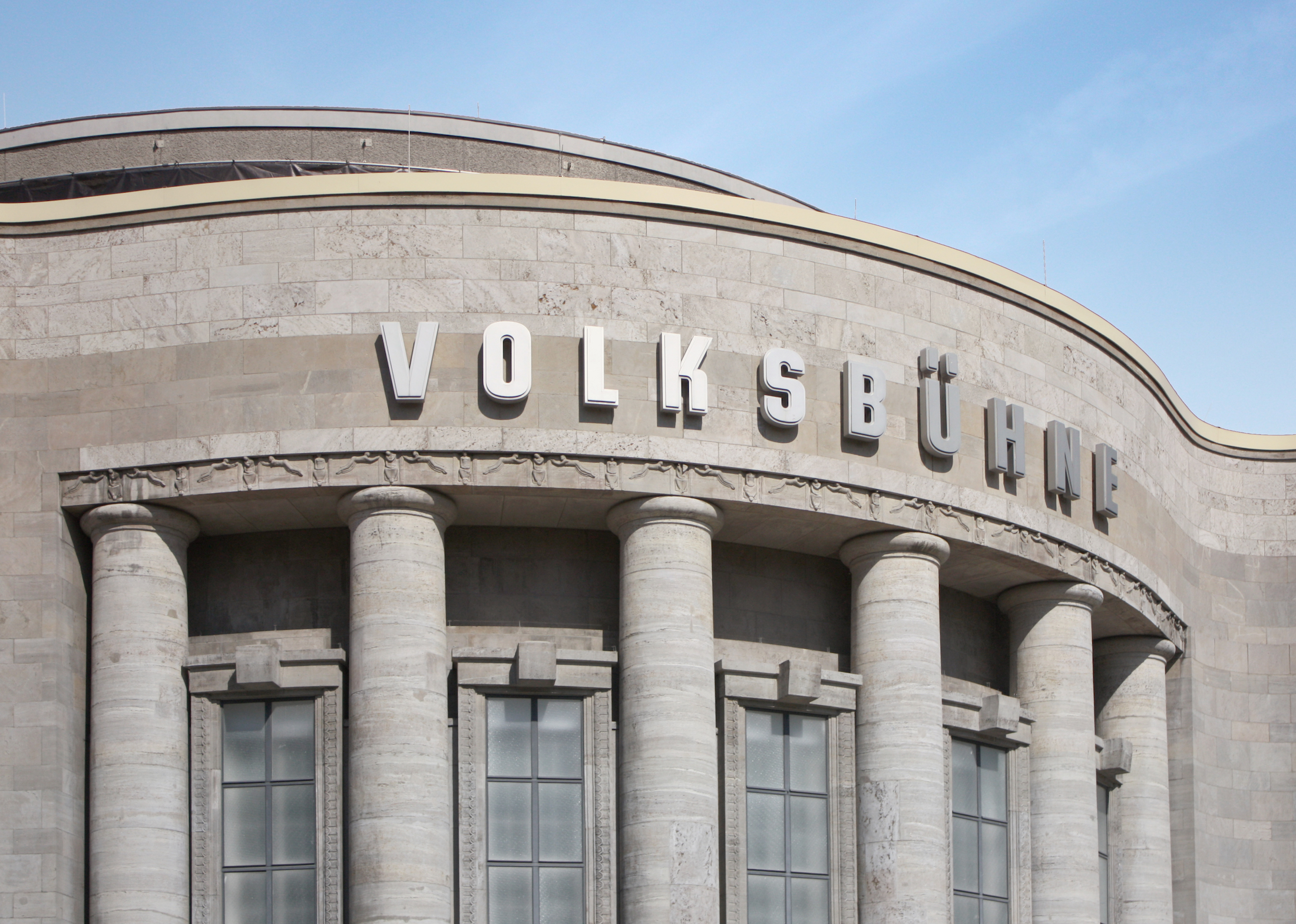 The Volksbühne in Scheunenviertel.